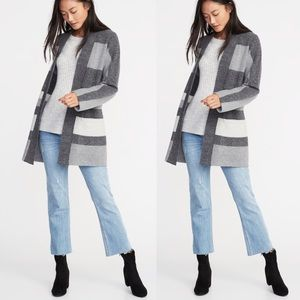 Old Navy Sweaters - NWT: Stripe Open Front Sweater